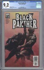 Black Panther #2 CGC 9.2 1st Appearance Shuri Marvel 2005 Wakanda Romita