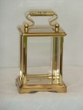 More details for larger brass carriage clock case only , would make good display case
