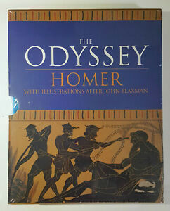 The Odyssey by Homer (2020, Arcturus Hardcover With Slipcase) STILL SEALED!