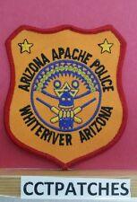WHITERIVER, ARIZONA APACHE POLICE INDIAN SHOULDER PATCH AZ
