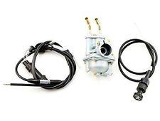 Yamaha PW50 1981 - 2009 Carburetor Throttle Gas Choke Cable kit