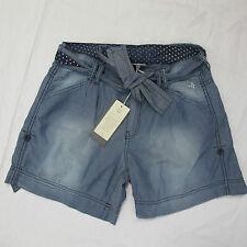 DEHA shorts/bermudas mujer de algodón mod.D45737 col. azul VAQUEROS tamaño XS