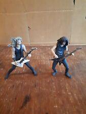 Kirk Hammett James Hetfield Mcfarlane Action Figures Metallica