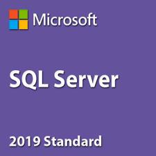 SQL Server 2019 Standard 20 Cores Unlimited CAL License Key/ 30 Sec Delivery
