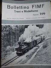 Bollettino FIMF treni 1979 109 Collezione Camillo Maggi
