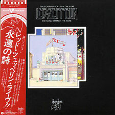 Led Zeppelin The Soundtrack From The Film Song Remains The Same Dbl CD Japan