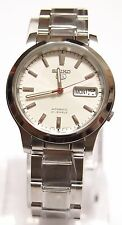 SNK789 Stainless Steel Band Automatic Men's White Watch SNK789K1 SEIKO 5 New