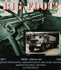 "CMK 1/35 M939 ""Big Foot"" Truck Interior Set (for Italeri kit) 3011"
