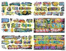 HO Scale Custom Graffiti Decals MEGA SHEET #6