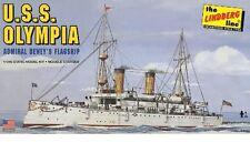 LINDBERG KITS  1:240 USS Olympia Admiral Dewey's Flagship  LIN402