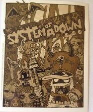 """System of a Down  00004000 Sticker 4""""x5"""""""