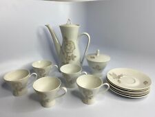 Rosenthal Classic Rose Continental China Tea / Coffee Set White Rose Gold