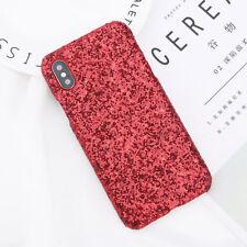 Luxury Sparkle Diamond Glitter Bling Hard Case Cover For iPhone X 6s 7 8 Plus SE
