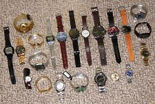 LOT Of 22 Watches ~ AS IS ~ Vincero, MVMT, Diesel, Seiko, Casio, Armani Exchange
