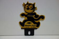 "FELIX WINSLOW CHEVROLET License Plate Topper 4"" High 3"" Wide! INTRICATE DIE CUT!"