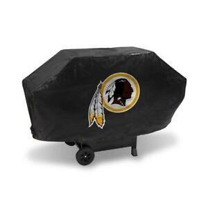 Washington Redskins Vinyl Padded Deluxe Grill Cover [NEW] NFL Grilling Barbeque