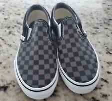 Boys Vans 2.5 Black & Grey