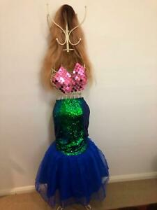 Mermaid costume and wig