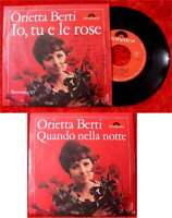 Single Orietta Berti: Lo, tu e le rose (Polydor)