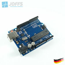 UNO R3 ATMEGA16U2 mit USB Kabel, MEGA328P-PU gesockelt, Arduino kompatibel