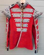 WALL DISPLAY ANTIQUE VINTAGE BRITISH COLDSTREAM GUARDS MUSICIANS MILITARY TUNIC