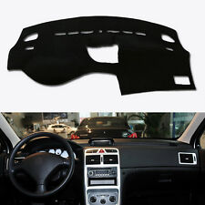 Fit For PEUGEOT 307 2002- 2017 Car Interior DashMat Dashboard Mat Dash Cover Pad