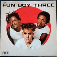 THE FUNBOY THREE - FB3 LP Vinyl 1982 CHR 1383 Lunatics TERRY HALL NEV LYNVAL