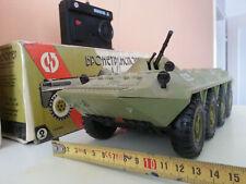 BTR-80 1:24 RC RADPANZER FERNGESTEUERT CCCP USSR DDR RUSSIAN MILITÄR RAR!