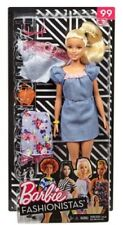 Barbie Blonde Fashionistas Doll with 2 Outfits