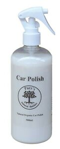 Car Polish - Parr's all natural Carnauba wax spray - 500ml