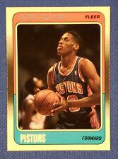 Dennis Rodman 1988-89 Fleer #43 RC PISTONS Rookie Card Beautiful 🔥 🔥