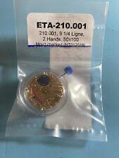 Genuine ETA 210.001 Watch Movement Swiss 2 Hands
