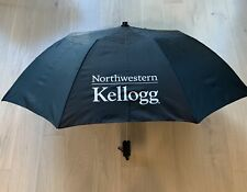Kellogg School of Management at Northwestern University Full Size Black Umbrella