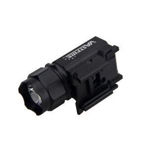 Tactical LED Gun Rifle Flashlight Torch Picatinny Rail Mount Hunting Light BM