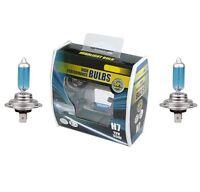 2x H7 Car Headlamp Dip Beam Bulb 50% fits Vauxhall ZAFIRA Mk I (A) 1998 > 2005