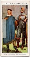 Norman Conquorers Haircut Was Medieval Skinhead  1930s Trade Ad Card