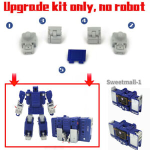 Fill Parts&Foot Soleplate Upgrade Kit For Kingdom Core-class Soundwave GO Better