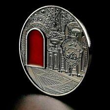 Russia Ussr Kgb Cold War Cccp Coin Putin See Through Amber Window