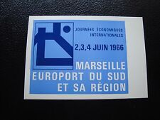 FRANCE - carte 4/6/1966 (journees economiques internationales) (cy97) french (E)