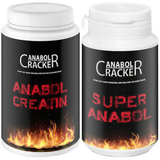 ANABOL CREATIN - 500g Kreatin pure Mesh / Taurin + Super Anabol Trainingsbooster