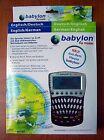 New Babylon Electronic Dictionary En/Gr English - Germany Translator