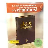 """Biblia Pastoral de la predicacion Pastoral de Lujo chocolate  """"Personalizada"""""""