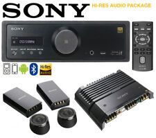 Sony RSXGS9 High-Res Audio Media Receiver With Super Tweeters And High-Res Amp