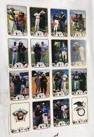 Uncut Sheet Of 16 1987 Baseball Smokey Bear's Fire Prevention Team Cards AL