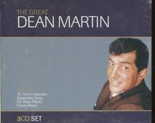 THE GREAT DEAN MARTIN on 3 CD'S -  NEW -