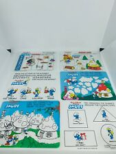 Vintage Etch A Sketch Funscreen Lot Of 11 Smurfs And Sports