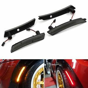 Turn Signal Light Smoked LED Side Marker For 2007-2015 MINI Cooper