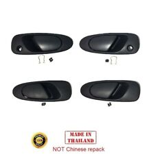 4 Outer Door Handle Outside Exterior Front Rear LH RH For 1992-1995 Honda Civic