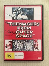 Teenagers From Outer Space (DVD R0 1959) David Love Dawn Anderson VG COND