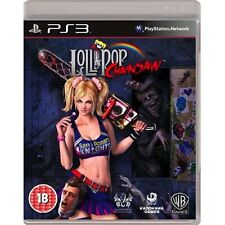 Lollipop Chainsaw PS3 PlayStation 3 Video Game Lolipop Lolli pop UK Release